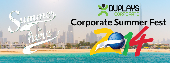 DUPLAYS Corporate Summer Fest 2014 Cover photo