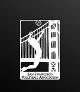 San Francisco Volleyball Association Logo