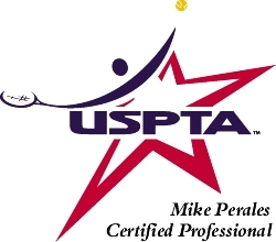 Mike Perales USPTA  Logo