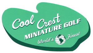Cool Crest Miniature Golf Logo